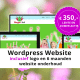 wordpress website actie
